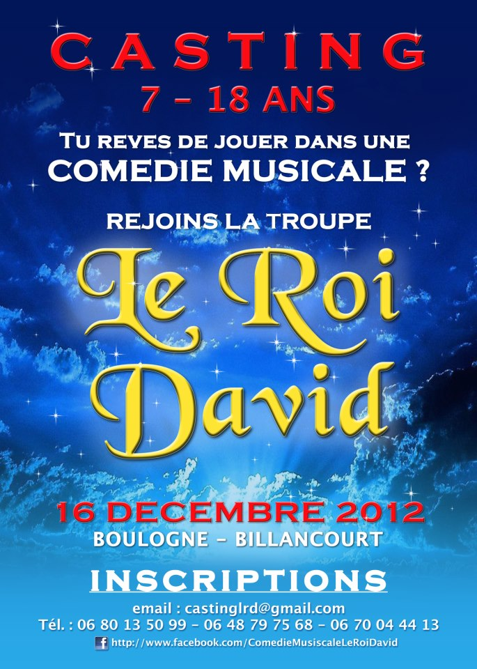 Comedie Musicale Part la Comédie Musicale « le Roi